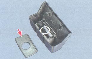 прокладка корпуса фонаря освещения номерного знака