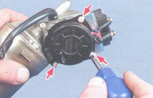 винты крепления крышки редуктора стеклоочистителя