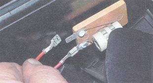 провод электродвигателя вентилятора