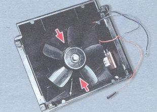 электродвигатель вентилятора отопителя салона ваз 2106