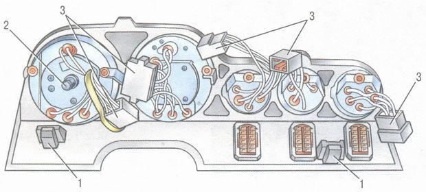 1 - скобы крепления панели
