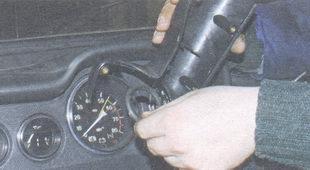 верхняя часть кожуха вала рулевого управления