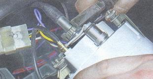 гайка наконечника вала привода спидометра