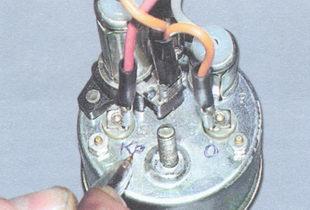 промаркируйте порядок подключения проводов