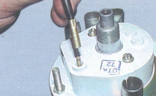 наконечник троса сброса показаний счетчика суточного пробега