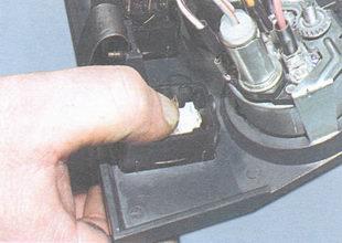 снятие выключателя