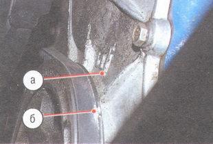 метки на крышке цепи привода распределительного вала