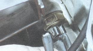 провода датчика включения вентилятора
