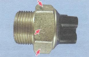 датчик включения вентилятора радиатора ваз 2106