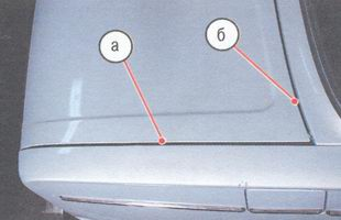 регулировка крышки багажника