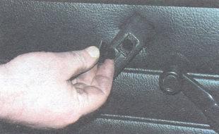 декоративная заглушка верхнего винта крепления подлокотника
