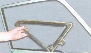 поворотное стекло ваз 2106
