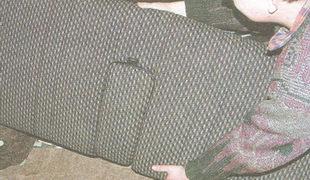 снятие спинки заднего сиденья