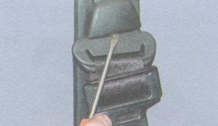 декоративная накладка болта крепления петли ремня безопасности