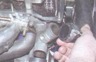 подводящий шланг радиатора