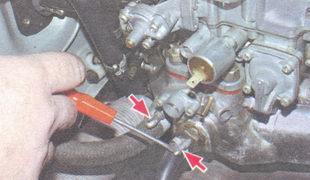 шланг подогрева впускного коллектора - шланг вакуумного усилителя тормозов