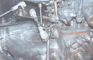 тяги привода дроссельной заслонки карбюратора