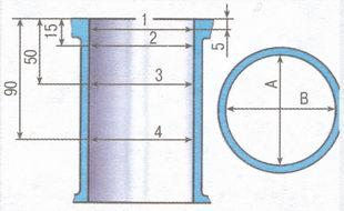 Схема измерения цилиндров).  Для установки...  Если наблюдается попадание масла в охлаждающую жидкость...