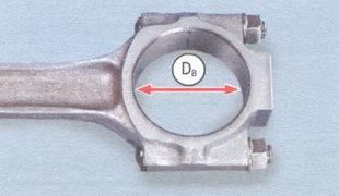 Db - внутренний диаметр посадочного места шатуна