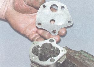 Ремонт масляного насоса двигатель ВАЗ 2106.