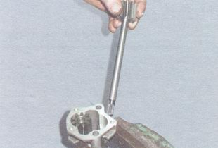 ведущая шестерня с валиком