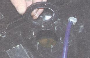 прокладка фланца датчика уровня топлива