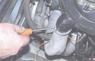 шланг подвода теплого воздуха