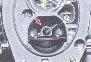дроссельная заслонка первой камеры