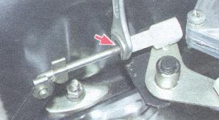 контргайка наконечника продольной тяги