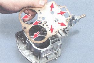 прокладка карбюратора 2107-1107010-20