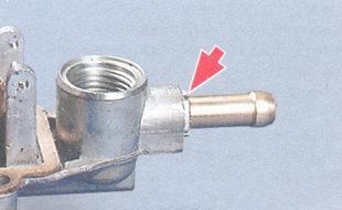 штуцер подвода топлива