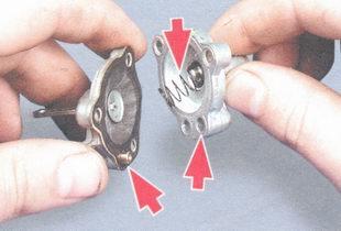 крышка и корпус пускового устройства