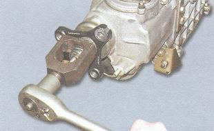 спрессуйте центрирующее кольцо эластичной муфты
