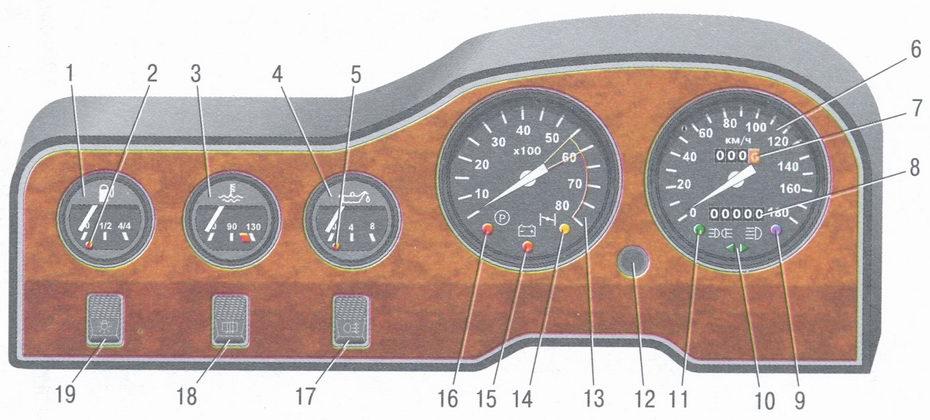 автомобиля ВАЗ 2106
