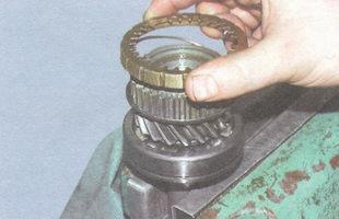 блокирующее кольцо синхронизатора