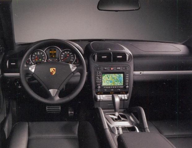 салон Porsche Cayenne S