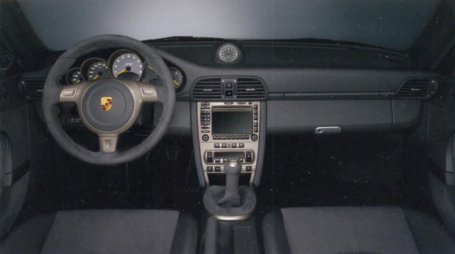 салон Porsche 911 GT3