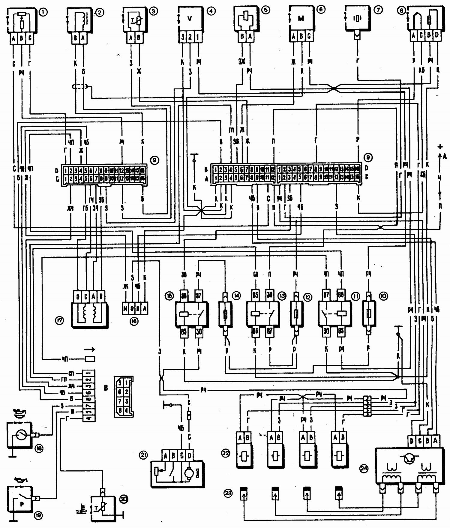 Автомобили ВАЗ-2110, -2111, -2112.  Руководство по техническому обслуживанию и эксплуатации.